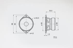 Image of Visaton FRS 5 X Speaker for PT01