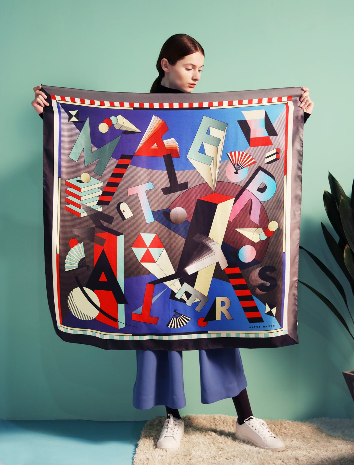 Image of Matter Matters SQUARE SCARF