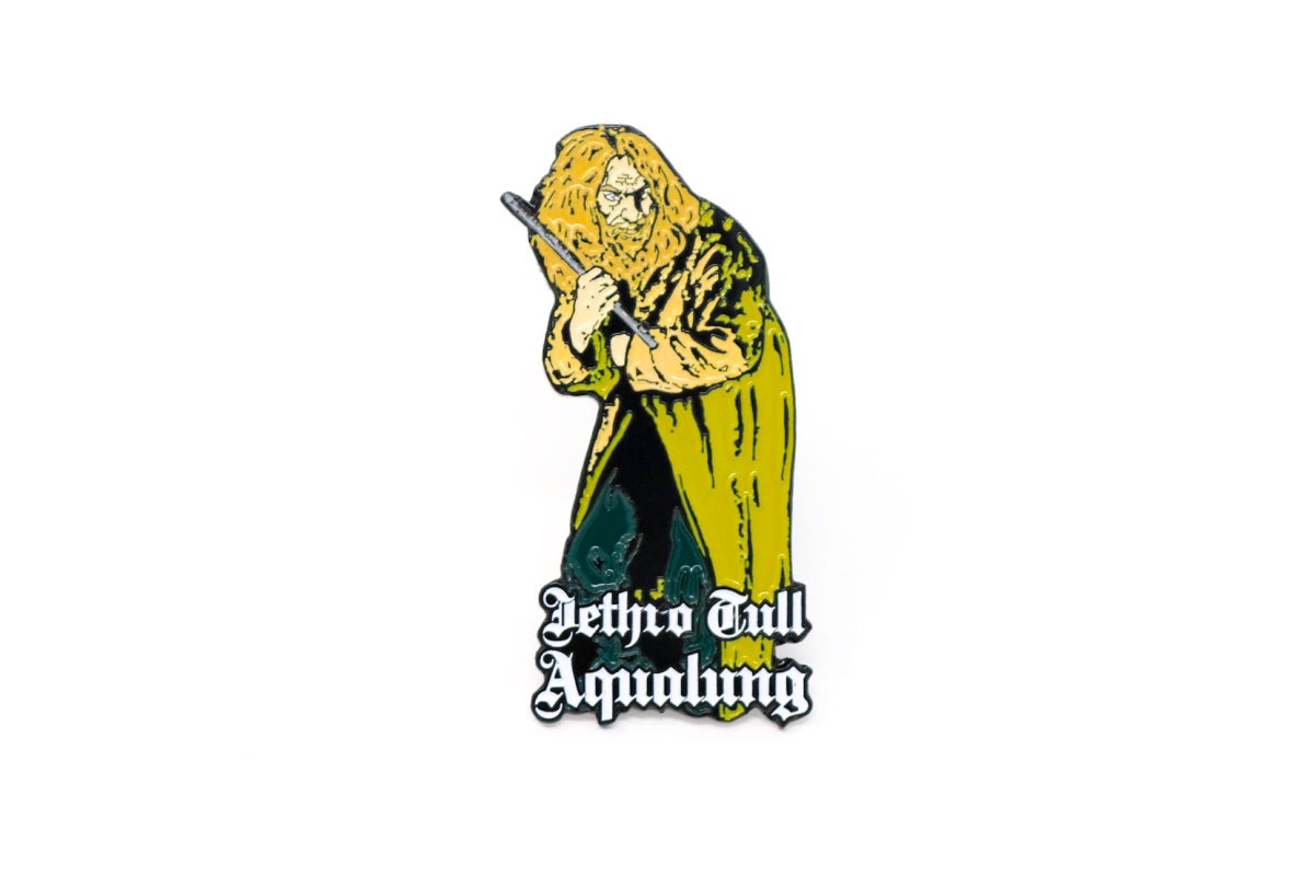 Image of Jethro Tull - Aqualung Enamel Pin
