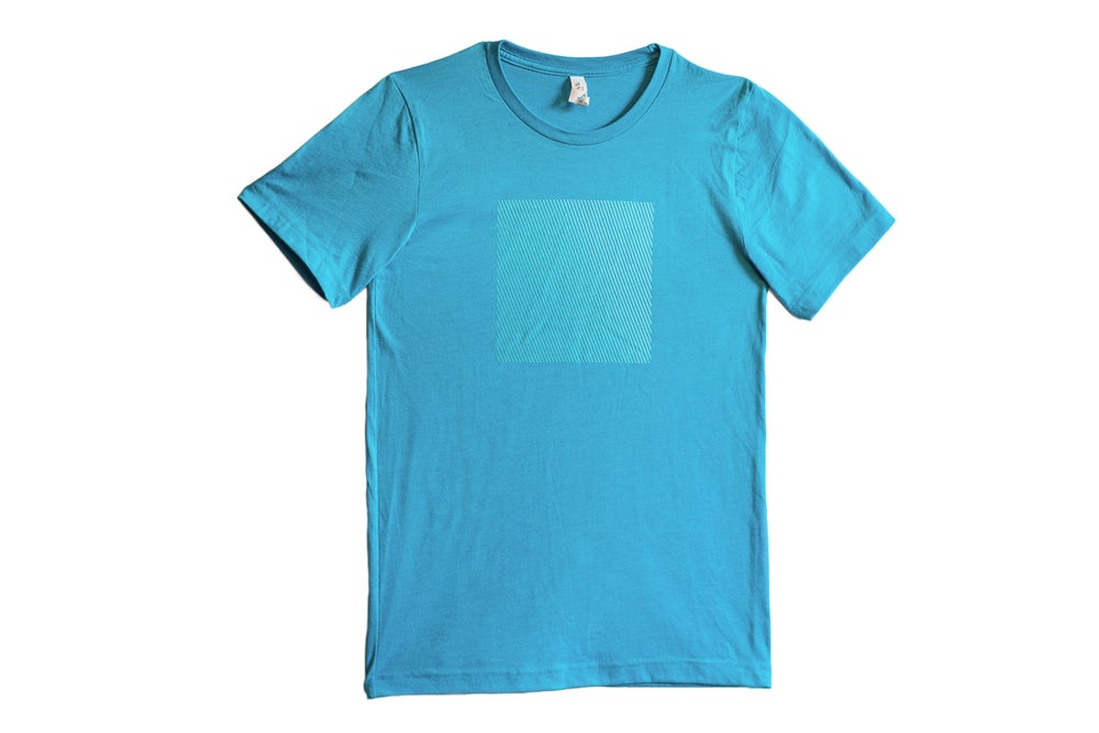 Image of Unisex SPACE T-Shirt in Bright Blue