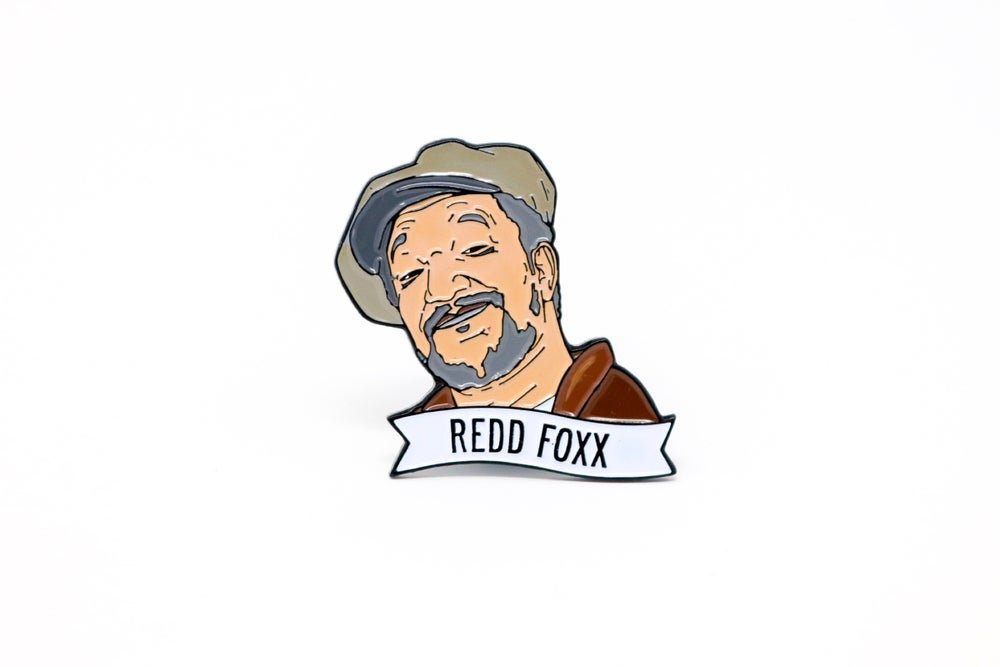 Image of Redd Foxx Enamel Pin