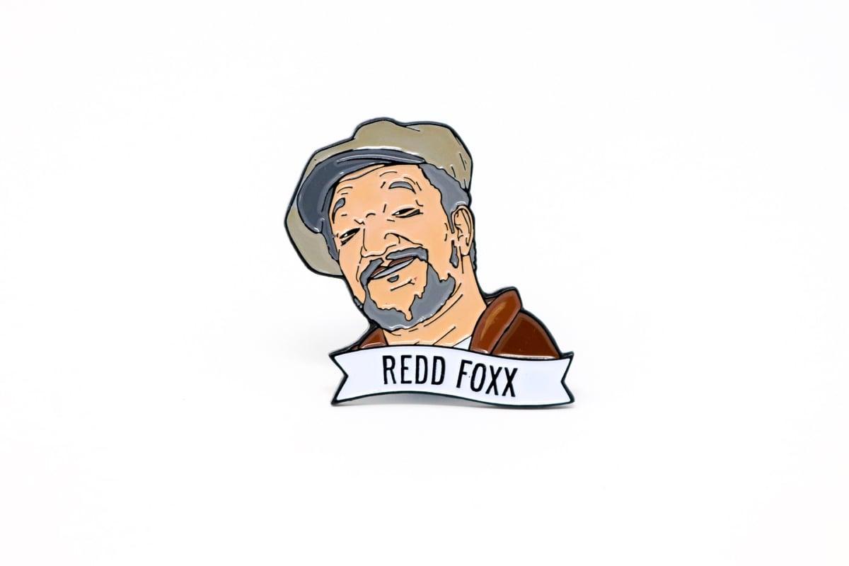 Image of Redd Foxx Enamel Pin