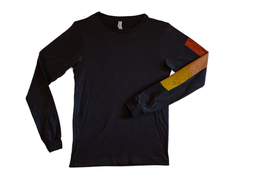 Image of Unisex SPACE Long Sleeve T-Shirt in Asphalt
