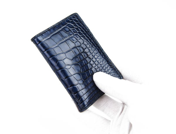 Image of Alligator & Lizard cardholder n°8 - Limited edition 2 pcs
