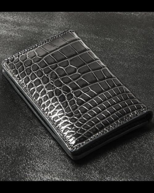 Image of Dark Grey Alligator Bifold n°8