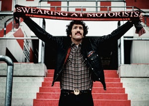 """Image of Swearing At Motorists """"Supporters Scarf"""""""