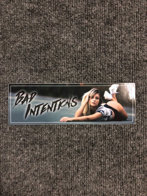 Image of Bad Intentions Slap Sticker