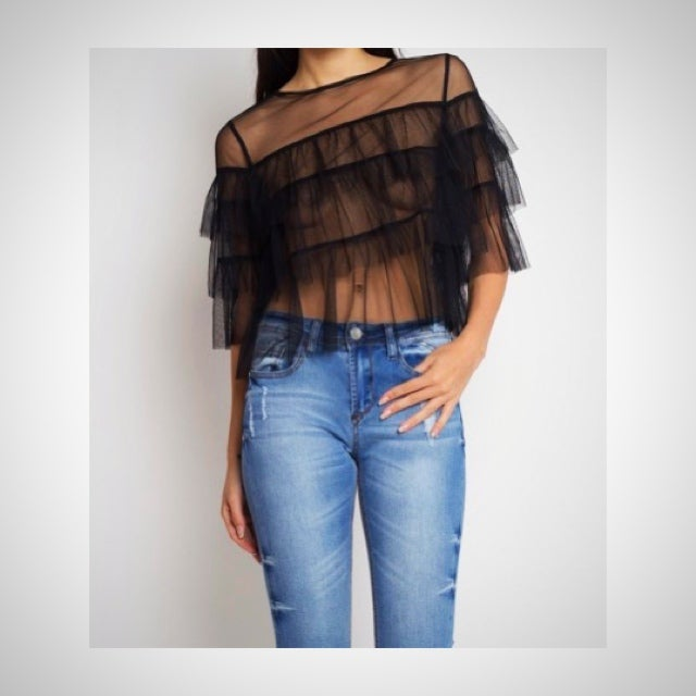 Image of Sheena Sheer Top