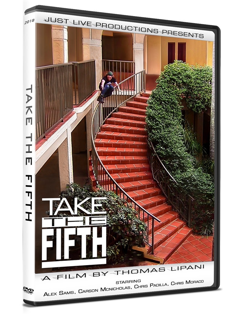 Image of TAKE THE FIFTH 2018 DVD WITH FREE SHIPPING