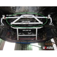 Image of 90-99 MR2 SW20 ULTRA RACING UR-LA4-963 4-Point Front Lower Bar Brace