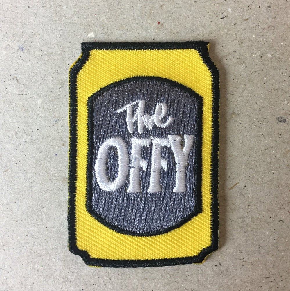 Image of Artist designed sew on patch