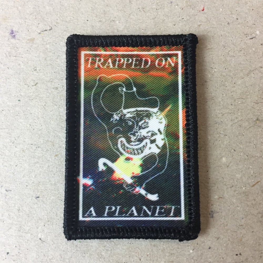 Image of Artist designed sew on patch - Alfie Strong & Jake Kent
