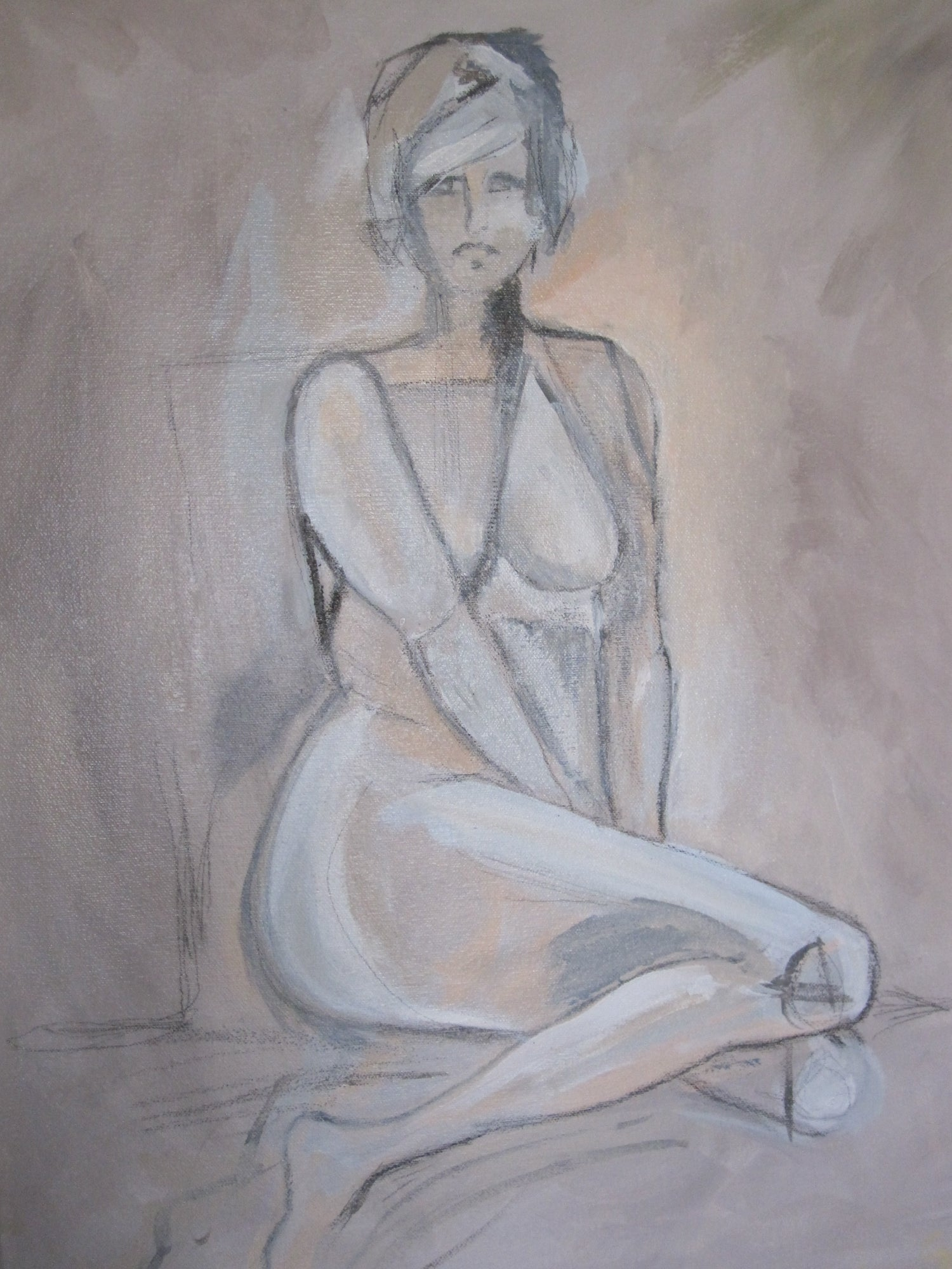 Image of Nude #6 18 x 24