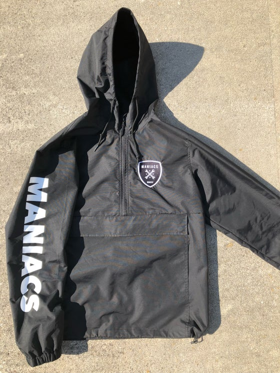 Image of MANIACS BLACK WINDBREAKER