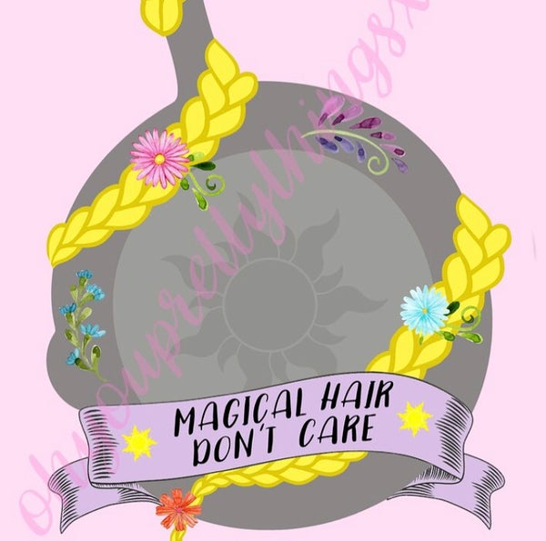 Image of Magical Hair Don't Care Print