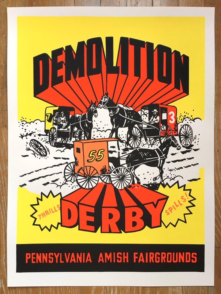 Image of Amish Demolition Derby