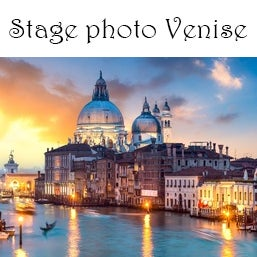 Image of Acompte Stage photo Venise (Italie) le 17 au dimanche 19 mai 2019  