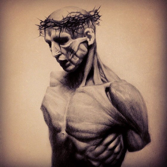 Image of 'ANATOMICAL CHRIST' - Open Edition Museum Archival Print