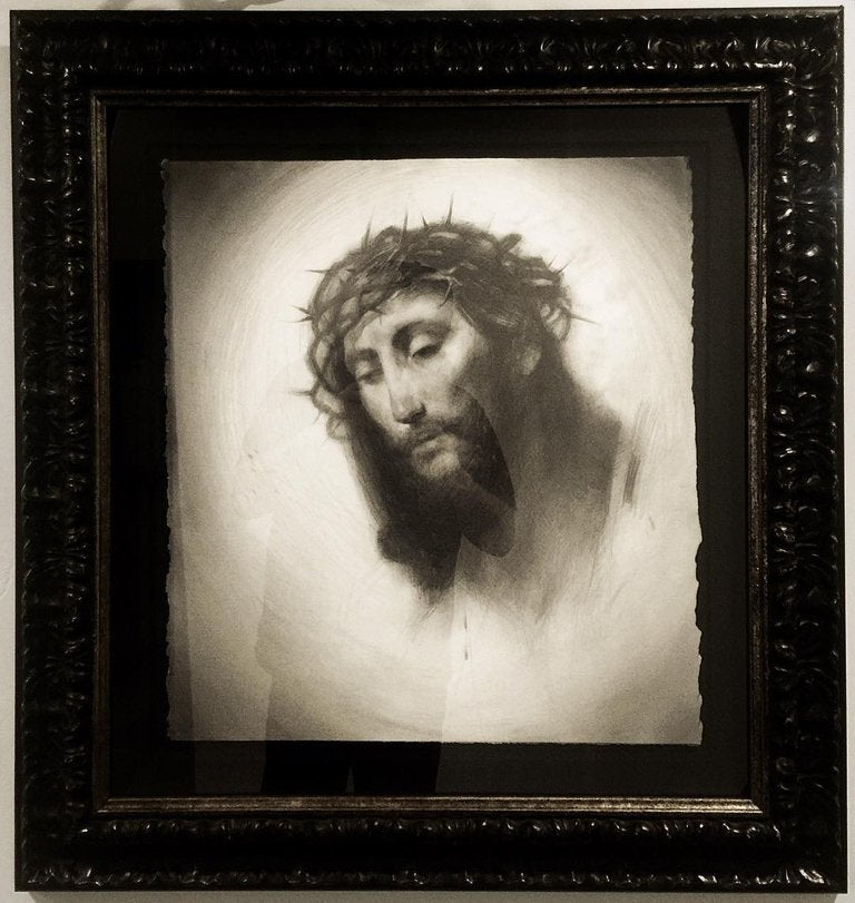 Image of 'BLOOD OF CHRIST' - Miniature Museum Archival Print