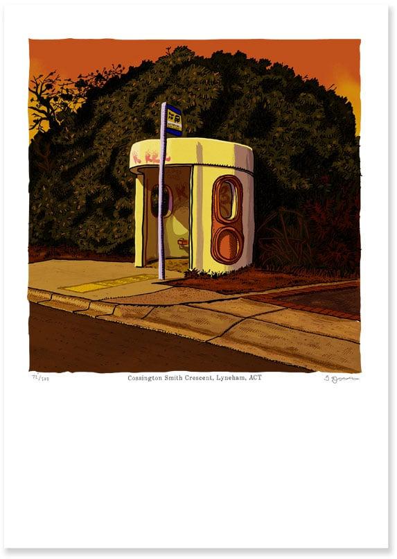 Image of Lyneham, Cossington Smith Crescent, digital print