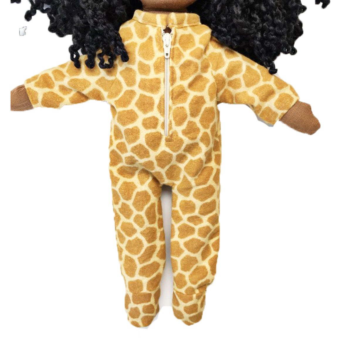 Giraffe Onesie - Doll Accessory (PLEASE NOTE: THIS ORDER WILL SHIP ON OR BEFORE NOV 30TH)