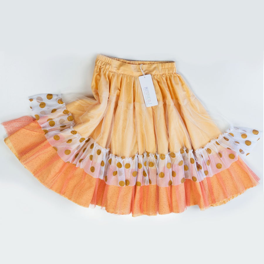 Image of Wonderland Tulle Skirt - Peach