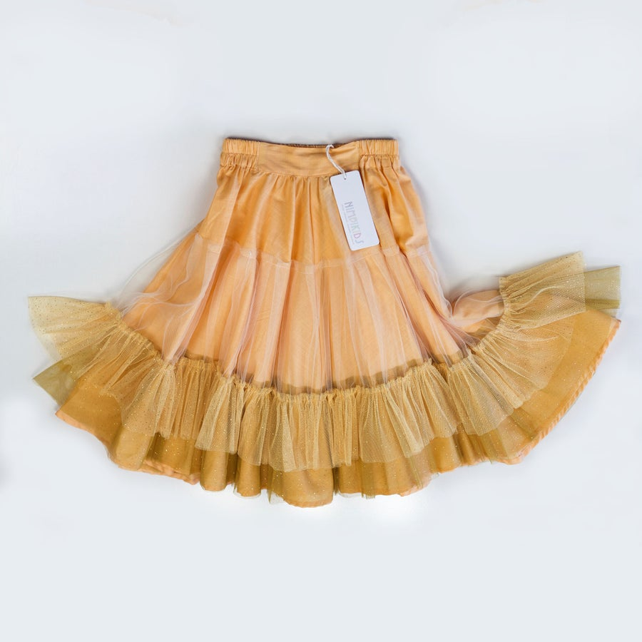 Image of Wonderland Tulle Skirt - Marigold