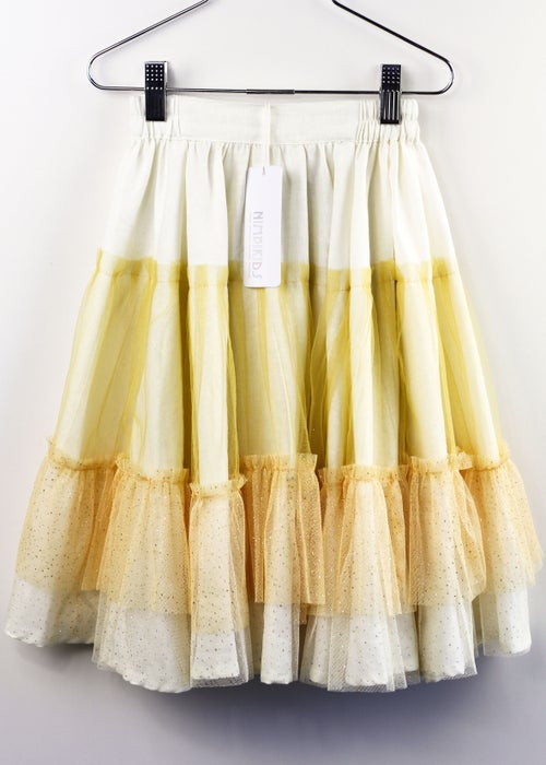 Image of Wonderland Tulle Skirt - Creme Brulee