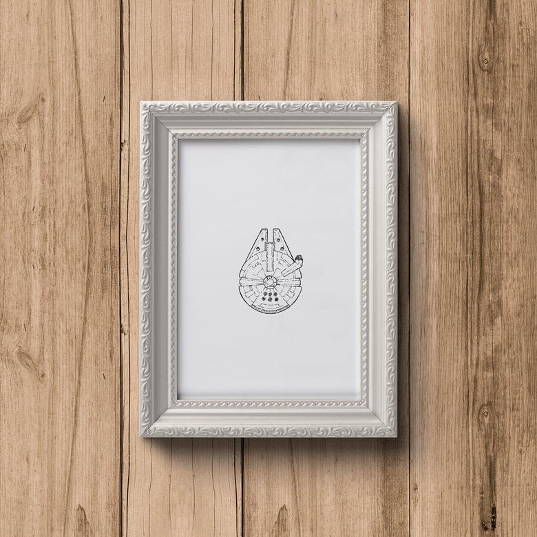 Image of Mini Star Wars Prints