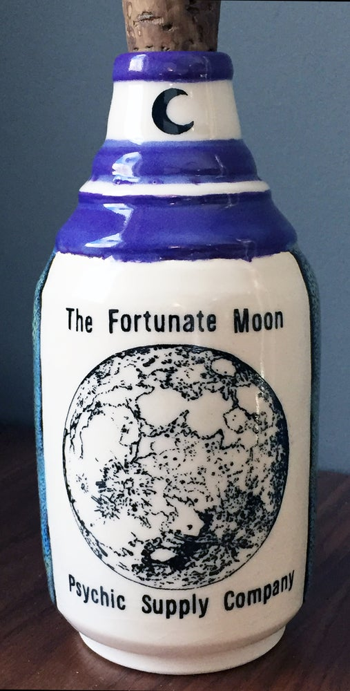 Image of Ceramic Bottle 28 - Fortunate Moon