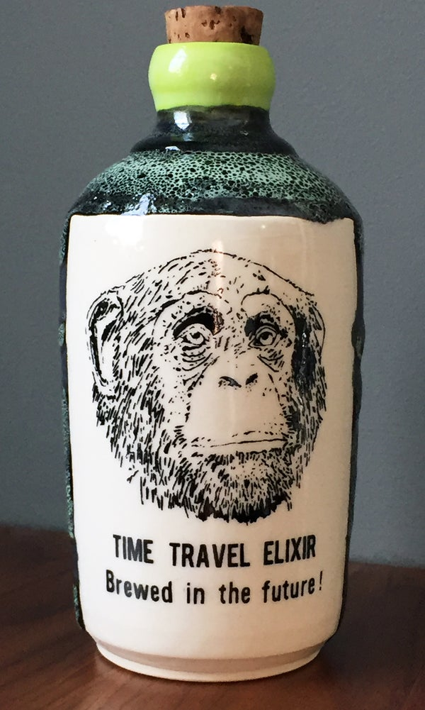 Image of Ceramic Bottle 30 - Time Travel Elixir
