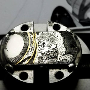 Image of One of a Kind Hand Engravings