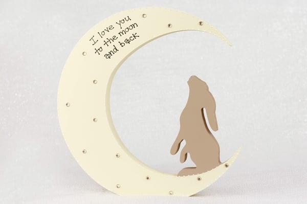 Image of Freestanding Moon & Hare
