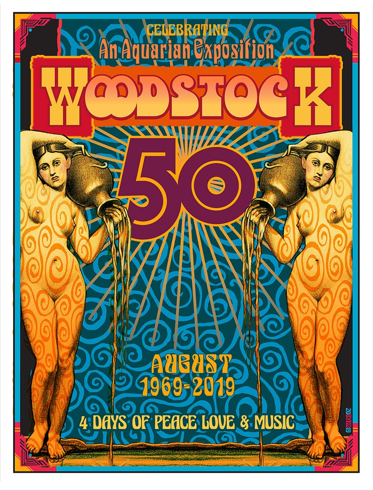 Image of WOODSTOCK 50th Anniversary v#1