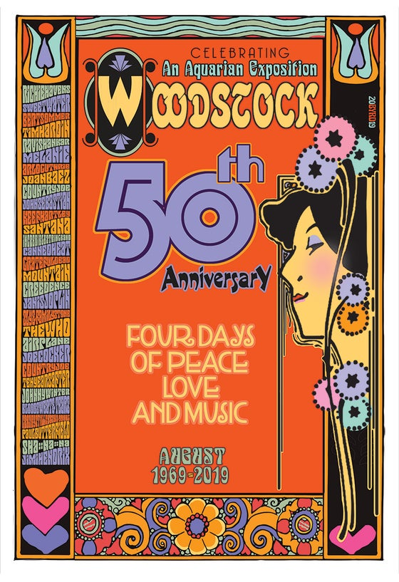 Image of WOODSTOCK Music & Art Fair 50th Anniversary V#2