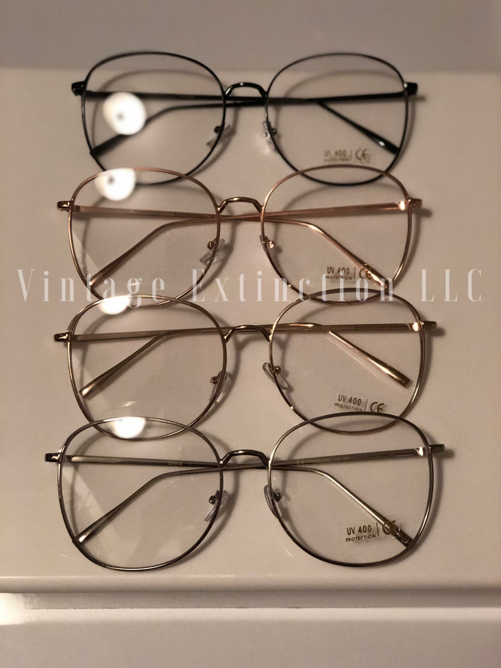 "Image of Unisex ""Professor"" Clear Frames"