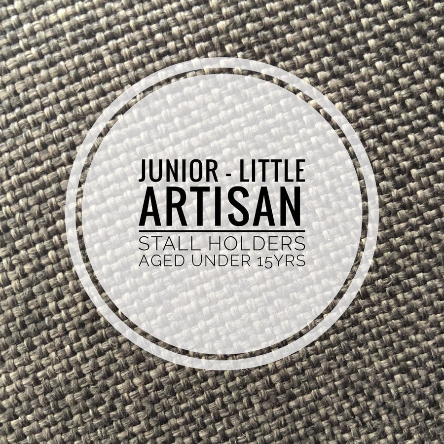 Image of Junior Little Artisan Stall - under 15yrs - March 30th