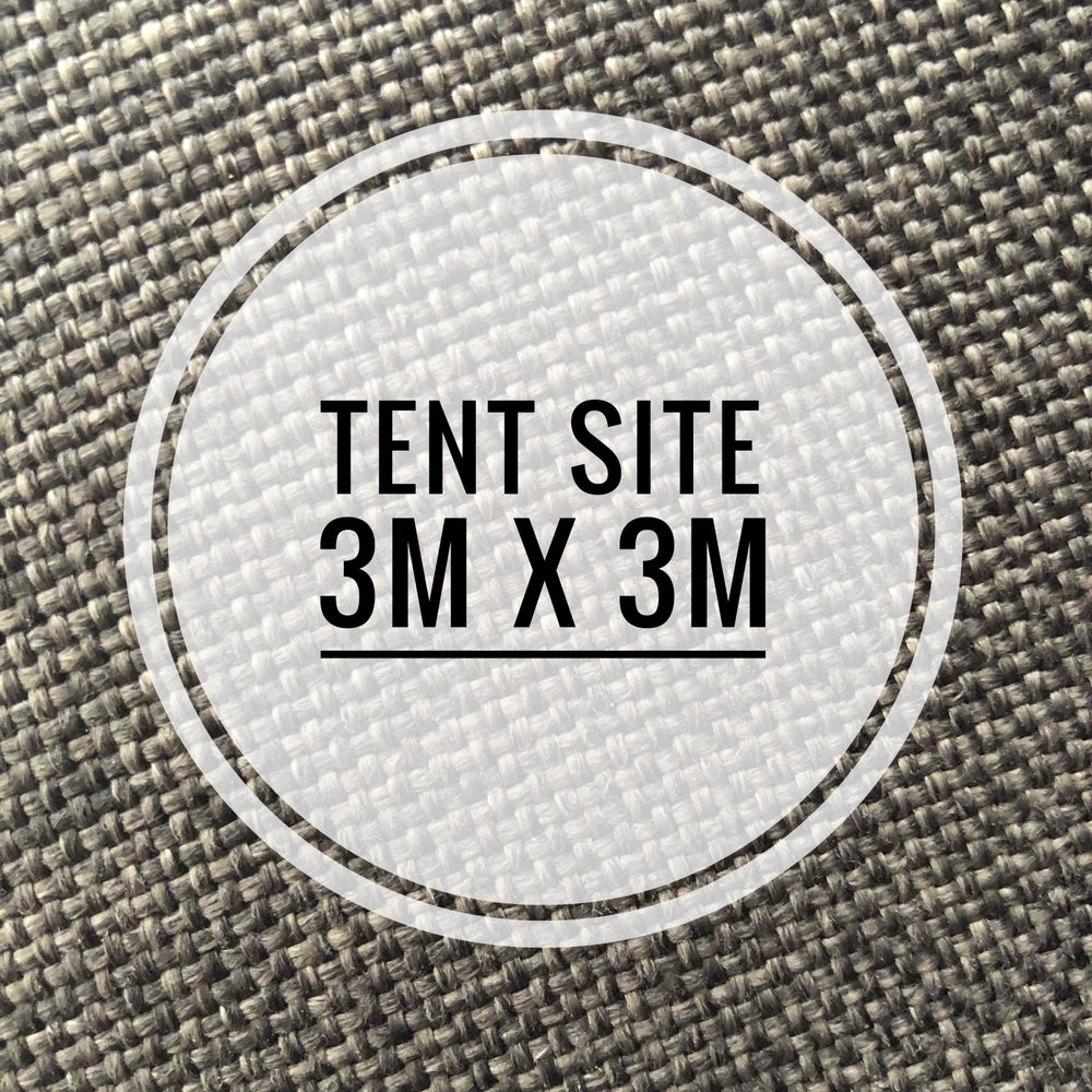 Image of Tent Site -3mx3m August 31st