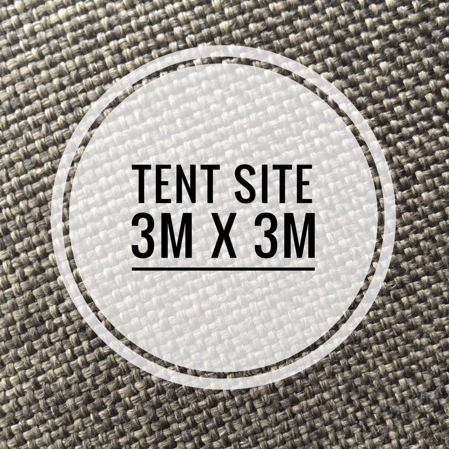 Image of Tent Site -3mx3m