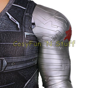 Image of Winter Soldier Bucky Barnes Armor Arm from Captain America 3 Civil War Cosplay