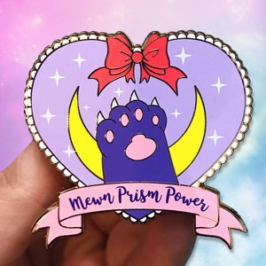 Image of Mewn Prism Power Hard Enamel Pins