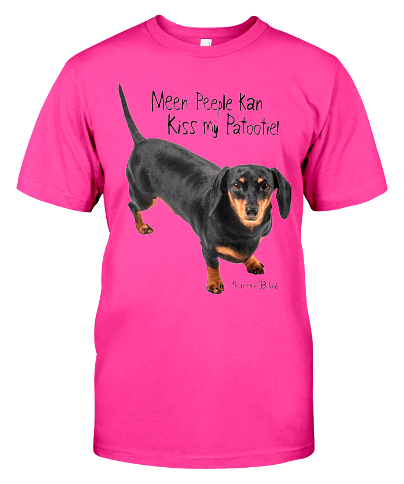 Image of Meen Peeple Unisex t-shirt