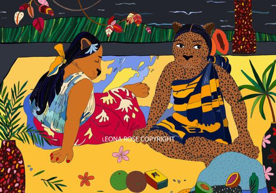 Image of LIONNES DE TAHITI