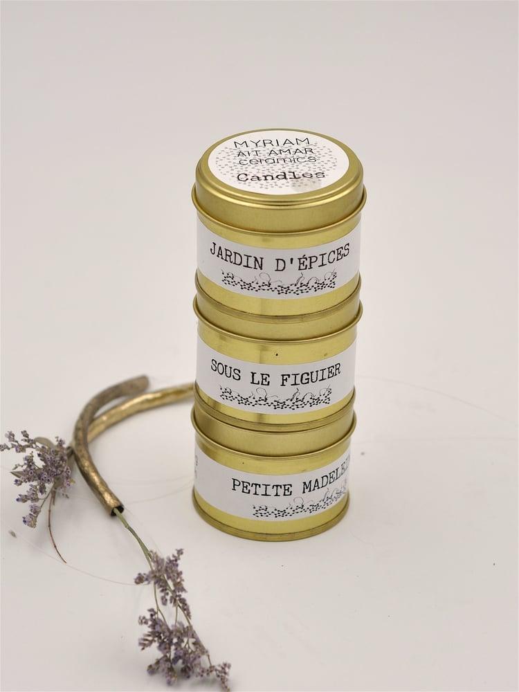 "Image of Bougies ""Découvertes""."