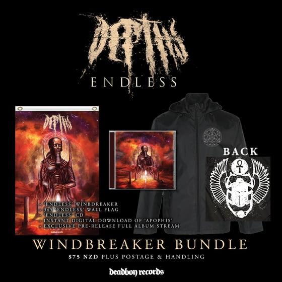 Image of DEPTHS 'Endless' CD & Windbreaker Bundle Pre-Order