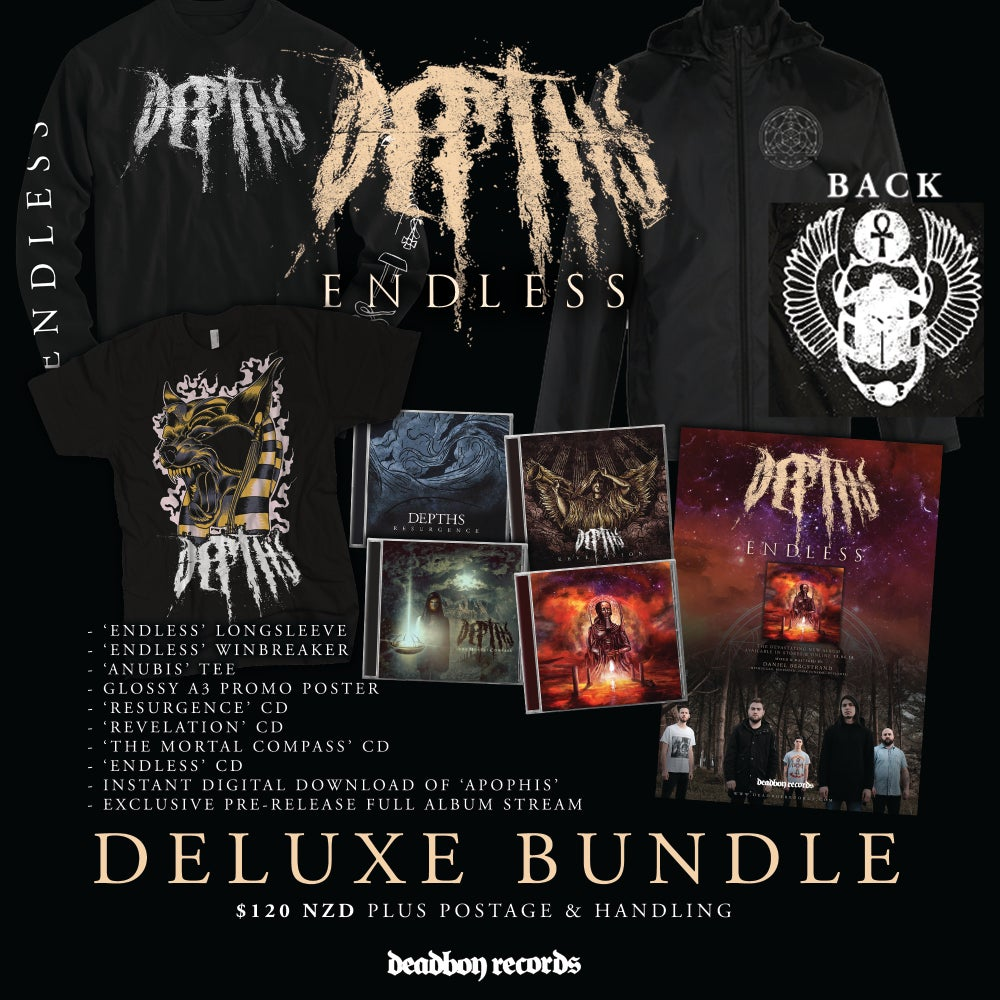 Image of DEPTHS 'Endless' Exclusive Deluxe Bundle LIMITED TO 10 ONLY