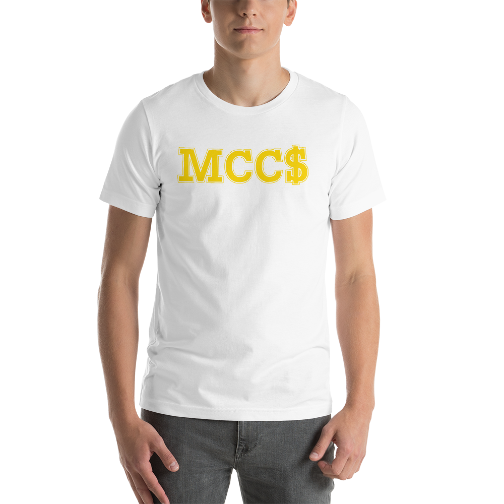 Image of MCC$ T-SHIRT White