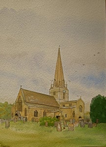 Image of Bampton Church, Oxfordshire