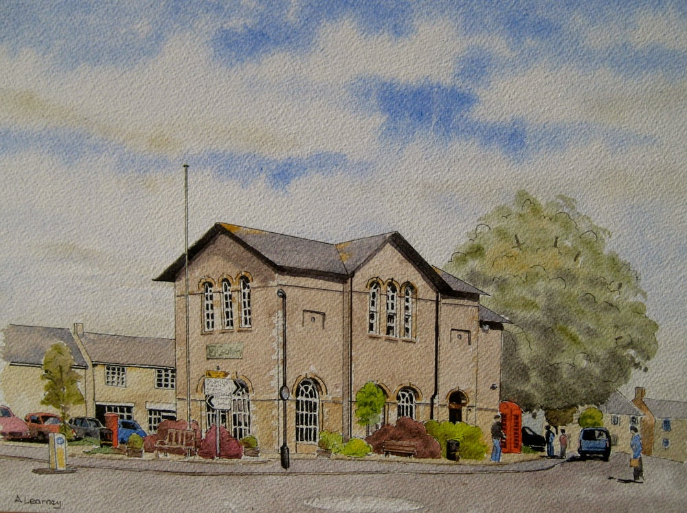 Image of Bampton Town Hall. Oxfordshire