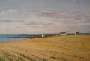 Image of Corn Stubble, Raguenes Plage, Brittany